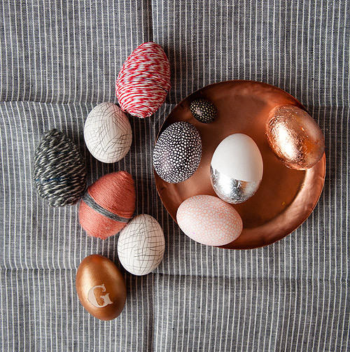 DIY easter egg decorations by Design Sponge
