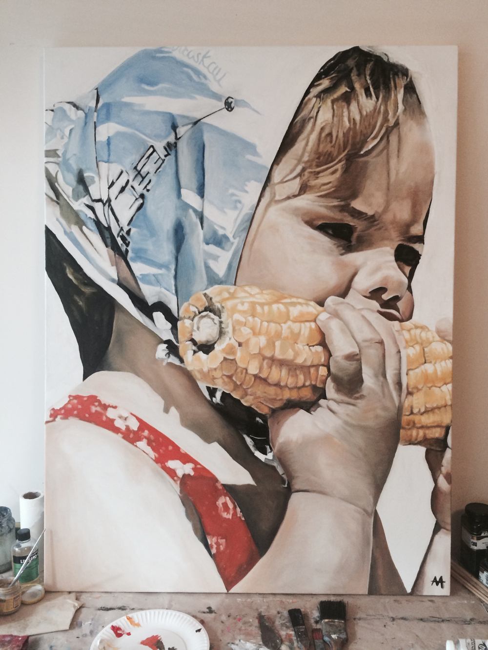Corn Kid by Adoni Astrinakis